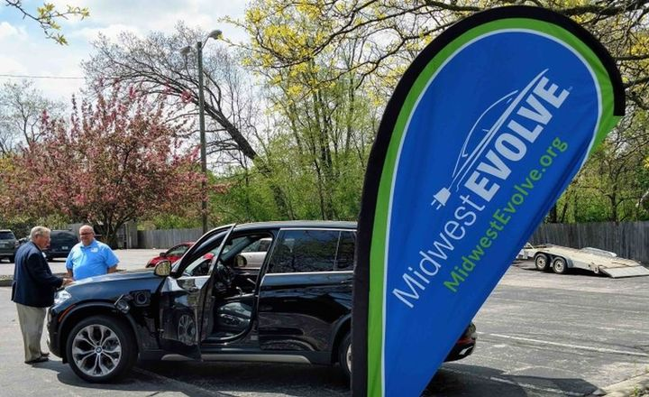 More than 90,000 people have participated in the American Lung Association's Midwest EVOLVE project, including fleet customers, and are designed to promote the performance and clean-air advantages of electric vehicles. - Photo courtesy ofThe Midwest EVOLVE.