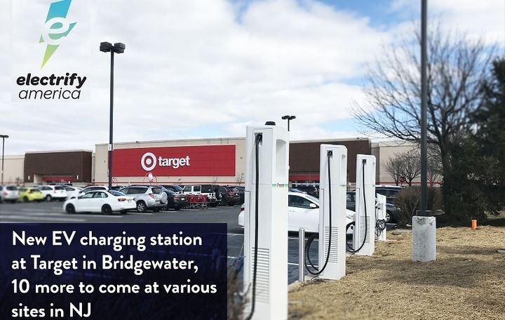 Five more charging sites in the state will be built at: townships Cherry Hill, East Brunswick; the towns of Secaucus and Kearny; and Pompton Plains, according to the company. Additional sites will be built in Clifton, Elizabeth, Fairfield, Jersey City and Somerdale.