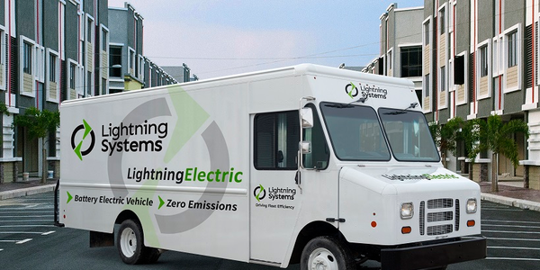 Lightning Systems received an executive order from CARB for the Lightning Electric Ford F-59...