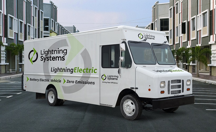 CARB Approves Lightning Systems' EV Ford F-59