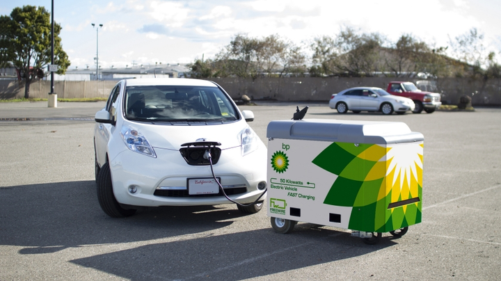 BP previouslyinvested $5 million in FreeWire Technologies Inc., a US-based manufacturer of mobile electric vehicle (EV) rapid charging systems.  - Photo courtesy of BP.
