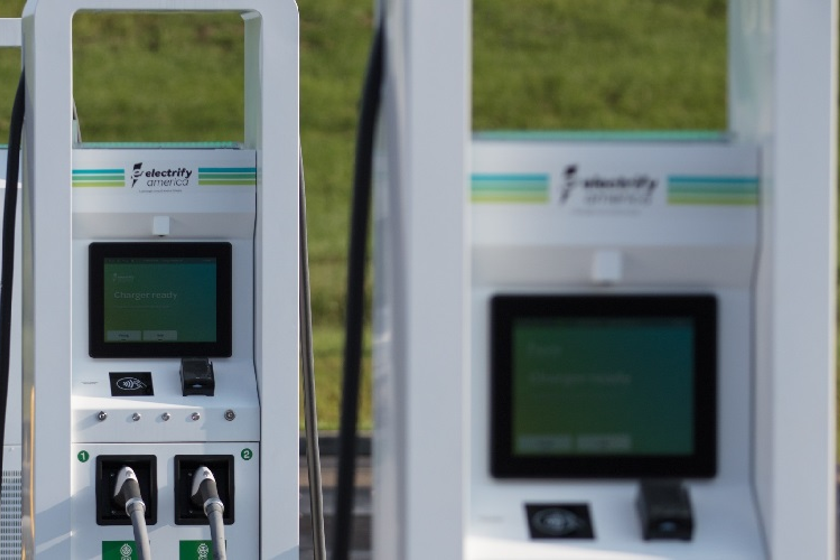 This marks the first time that Electrify America will install EV charging stations at a bank...