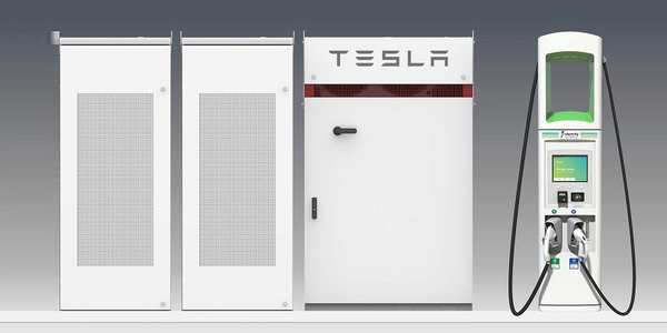 Electrify America is installing Tesla Powerpack battery systems at more than 100 of its...