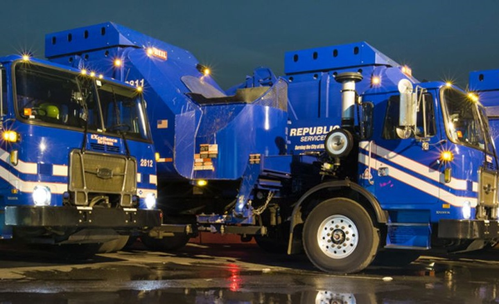 Clean Energy signed an agreement with the solid waste collection company to increase its fleet utilization of Clean Energy's Redeem renewable natural gas fuel across 21 states. - Photo courtesy of Republic Services.