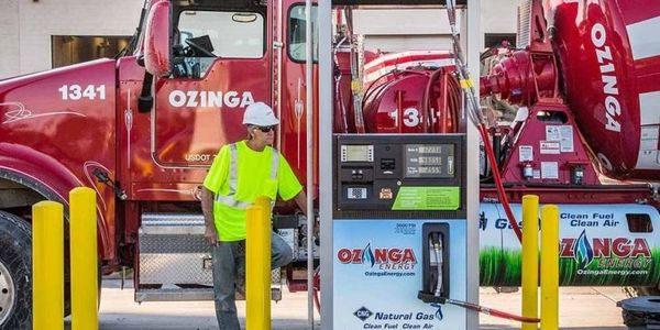 Ozinga, a building materials provider, received the Above and Beyond Award in part for having...