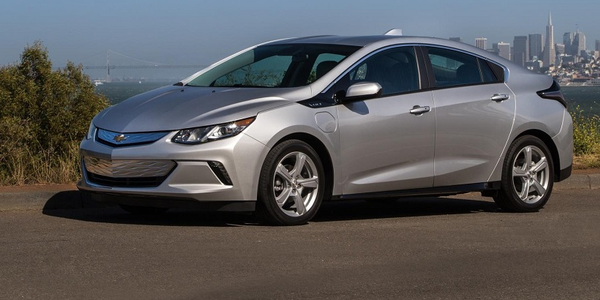 The 2019 Volt's new 7.2 kW charging system can recharge the vehicle in 2.3 hours with a 240-volt...