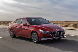 Hyundai's New 2021 Hybrid Elantra Offers EPA Combined 50 MPG