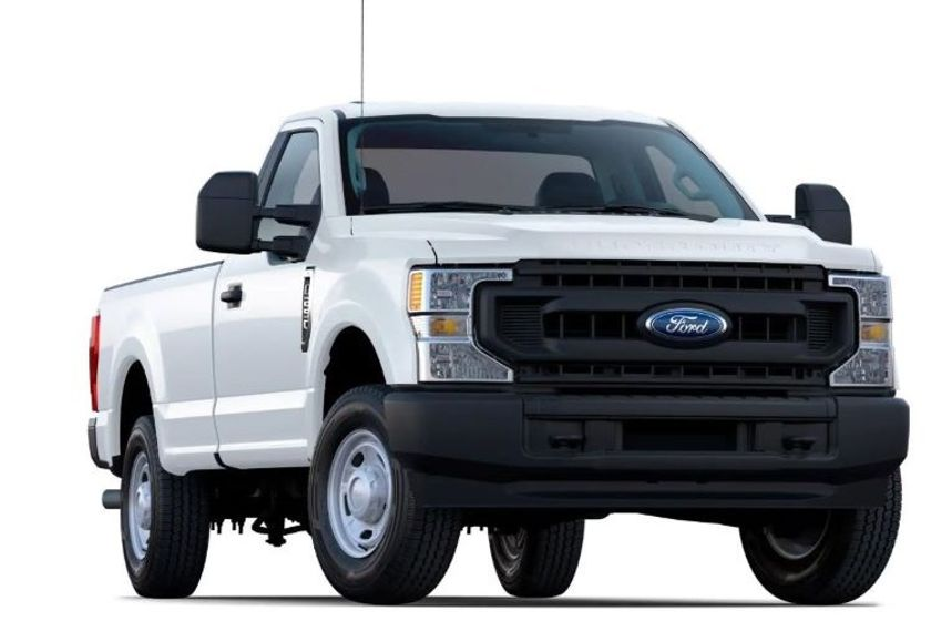 Pictured is the 2020 Ford F-250 XL.