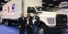 U.S. Postal Service Contractor to Use Propane-Fueled Ford Trucks