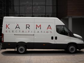 Karma Launches EV Utility Van Platform