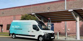 Plug Power Unveils the First HYVIA Hydrogen Renault Master Van