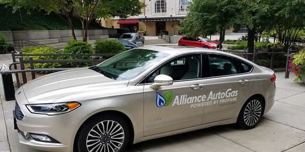 Alliance AutoGas also introduced an electric/propane autogas hybrid Ford Fusion.