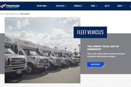 Propane Education & Research Council Updates Fleet Info Online