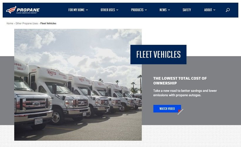 Propane Education & Research Council Updates Fleet Info Online