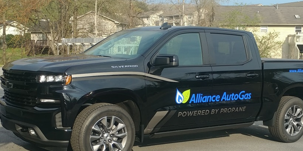 The 2019 Chevrolet Silverado equipped with Alliance AutoGas tech will be displayed at the...