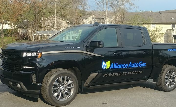 The 2019 Chevrolet Silverado equipped with Alliance AutoGas tech will be displayed at the National Propane Gas Association (NPGA) Southeastern Convention.