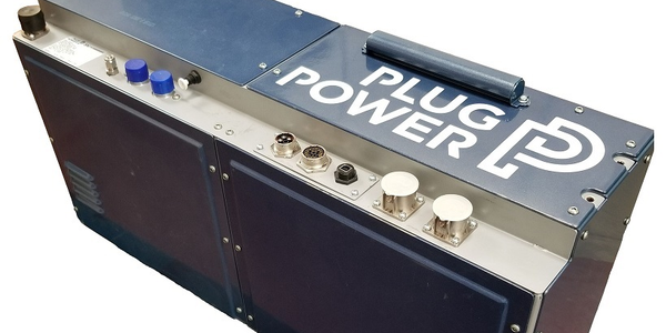 The 30-kilowatt hydrogen fuel cell engine is the latest commercial product from Plug Power's...