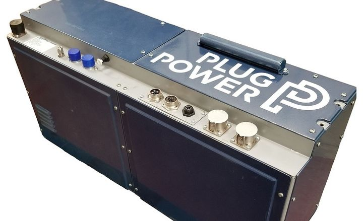 The 30-kilowatt hydrogen fuel cell engine is the latest commercial product from Plug Power's ProGen suite of products. - Photo courtesy of Plug Power.