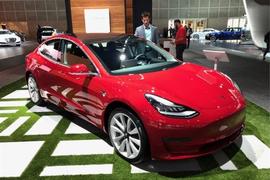 特斯拉在2020年第三季度生产了14.5万辆汽车