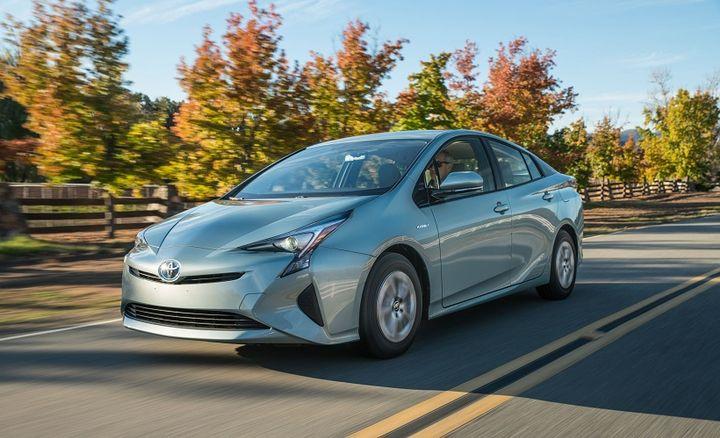 Pricing for thePrius Three Liftback starts at $27,673.  - Photo courtesy of Toyota.