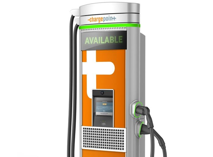 ChargePoint will integrate its charging network with Kisensum's cloud-based technology - Photo courtesy of ChargePoint