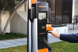 ChargePoint Partners with NATSO for Truckstop EV Chargers