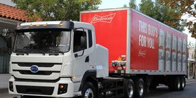 Anheuser-Busch Adds 21 Electric Trucks in Calif.