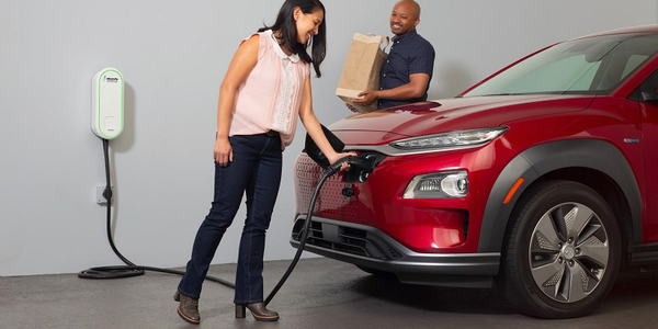 The EV charger is compatible with all electric vehicles available in the North American market...