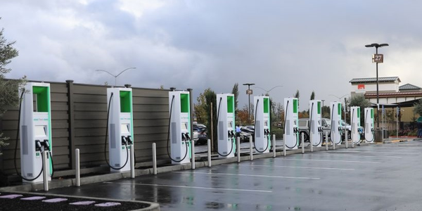 ChargePoint and Electrify America will allow their users to charge on the other network for no...