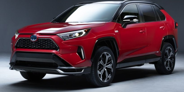 The plug-in hybrid version of this compact crossover SUV will officially debut at the Los...