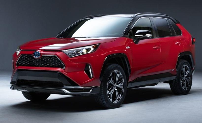 Toyota's 2021 RAV4 Plug-In Hybrid Will Debut at LA Auto Show