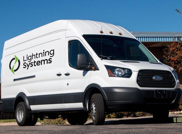 Photo courtesy of Lightning Systems. -