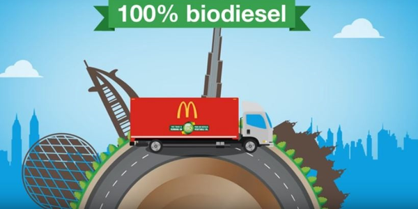 The McDonald's UAE Biodiesel Initiative aimed to focus on the benefits of using biodiesel,...