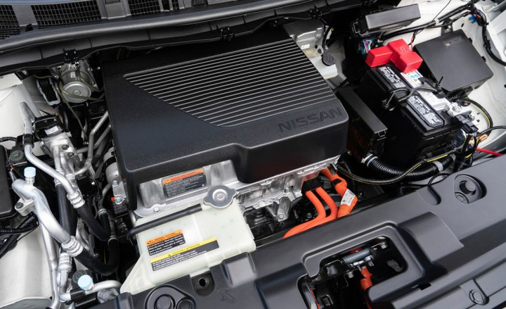 Nissan's 2019 Leaf Plus adds an upgraded 62-kWh battery pack (shown) that replaces the 40-kWh pack on the standard Leaf to add 50% more range.