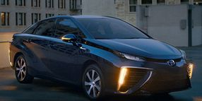 Toyota Mirai Adds Safety Tech for 2019
