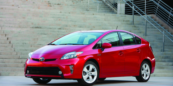 The 2012 Toyota Prius I emits the lowest level of smog-forming pollutants and greenhouse gas...