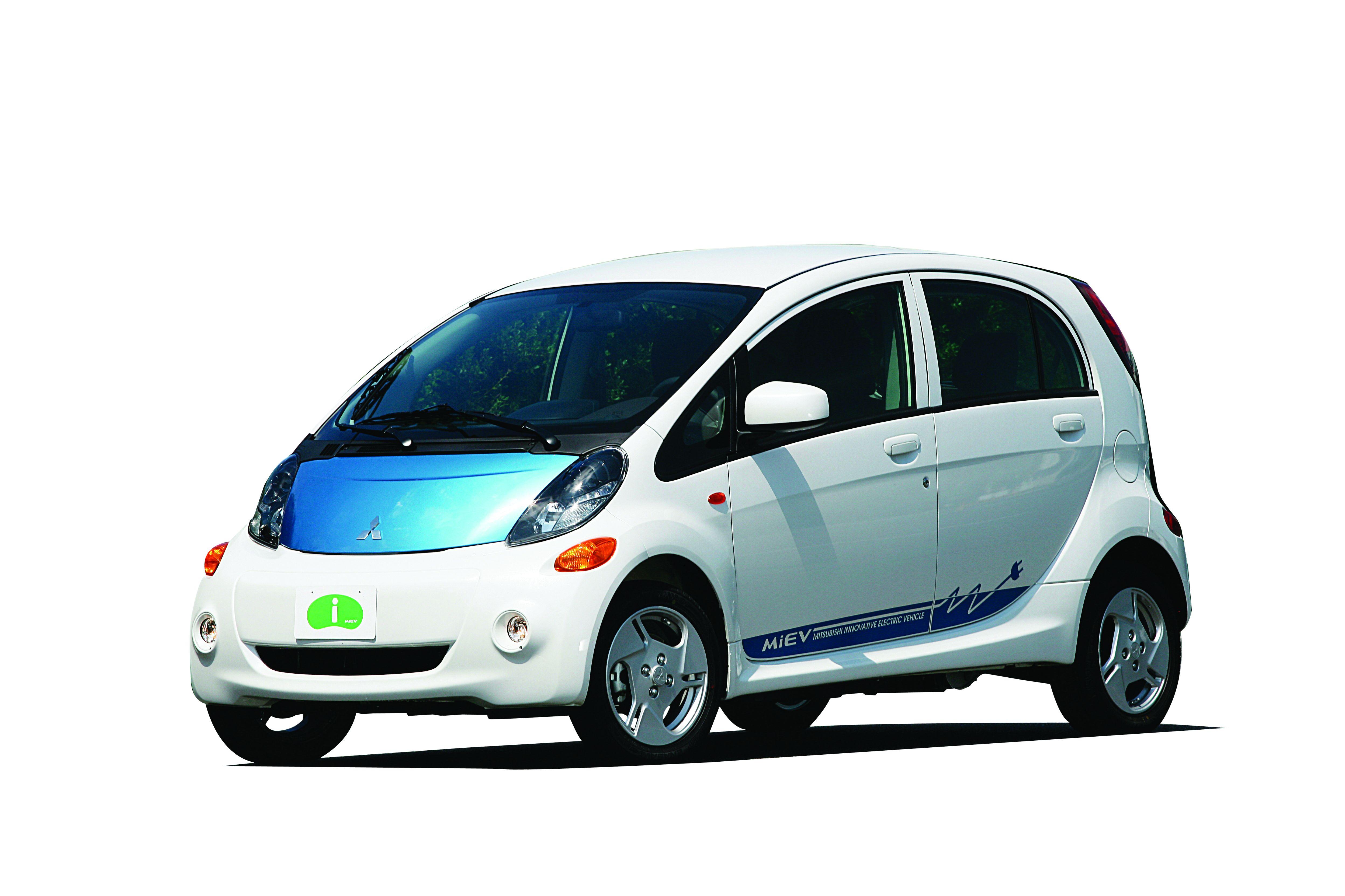Mitsubishi's 'i-Catching' Electric Vehicle