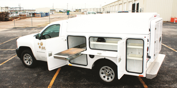 Using a lightweight material, such as a composite, to spec a service truck can help a fleet do...