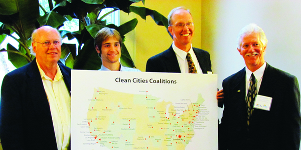 Land of Sky Clean Vehicles Coalition held a designation ceremony on Oct. 29 to mark its official...