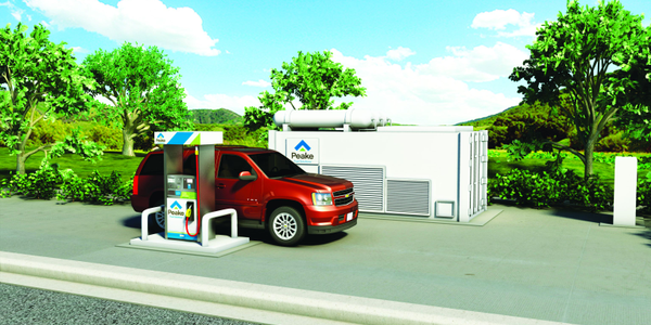 GE and Peake Fuel Show CNG Belongs in a Box