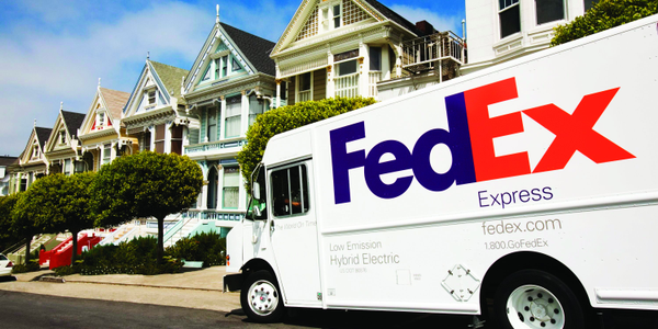 FedEx is using hybrid-electric and other alt-fuel vehicles to achieve its 2020 sustainability...