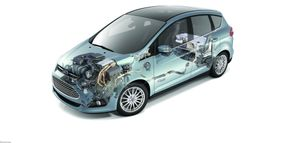 GE Expands Electric Fleet With Ford C-MAX Energi