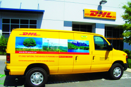 DHL Delivers on Green