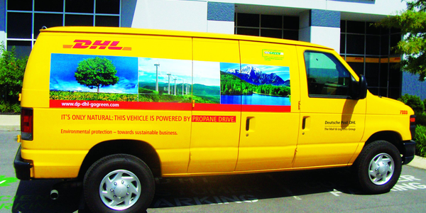 DHL Express recently rolled out 100 ROUSH CleanTech propane-autogas vans in California, Florida,...