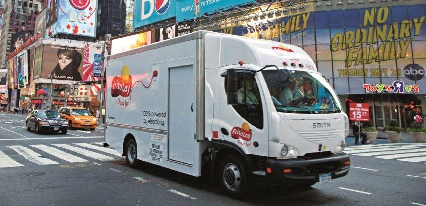 Frito-Lay & Smith Electrify Medium -Duty Trucks