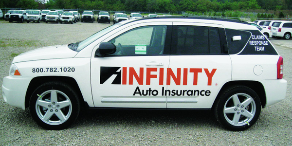 The Infinity Insurance fleet totals 427 vehicles, primarily Jeep Compass models provided to the...