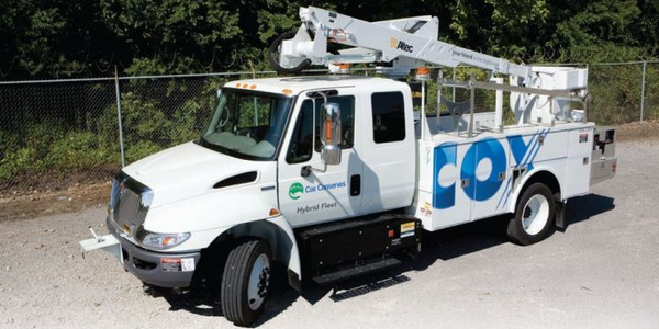 Ninety-eight percent of Cox Enterprises' fleet consists of low-emission vehicles such as 