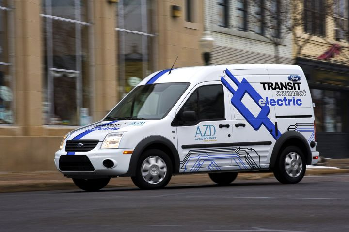 Ford Charges Up for the Transit Connect Electric