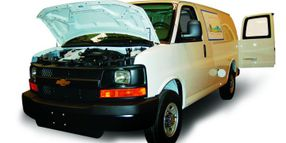 GM Debuts CNG Vans at Green Fleet Conference