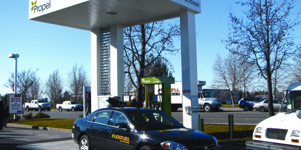 Propel Fuels has 11 Clean Fuel Points open at present in California and Washington state with...